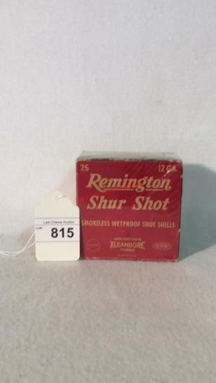 Remington Shur Shot Full Box 12ga