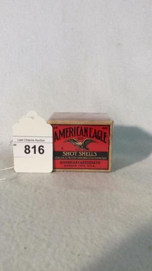American Eagle Shot Shells Full Box 410ga