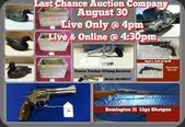 Legendary Gun Auction - August 30