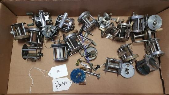 Parts Only Fishing Reels