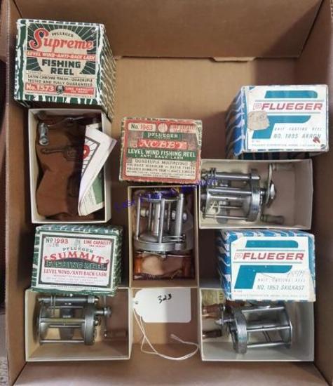 Pflueger Reels W/ Box