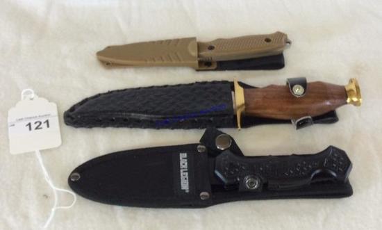 Pocket Knives W/ Sheaths