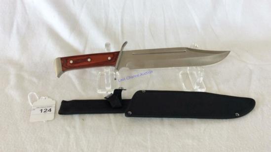 Ridge Runner Bowie Knife W/ Sheath