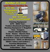 The Greatest Largest General Consignment Auction