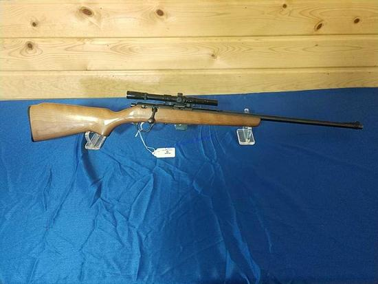Glenfield Model 25 With Scope 22cal Short Rif