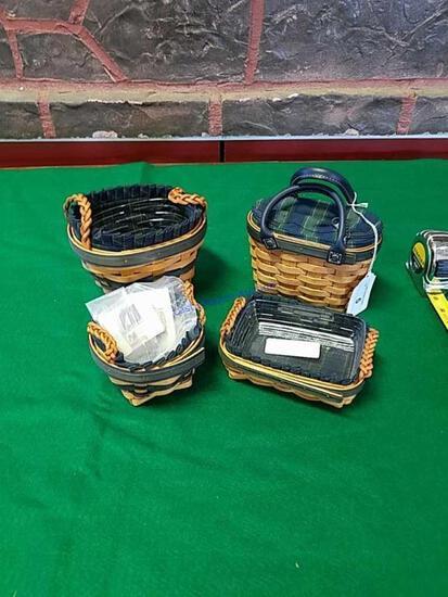 Set of 4 Longaberger Renewal Basket