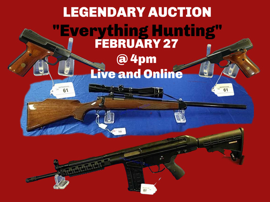 "Legendary Auction ""Everything Hunting"""
