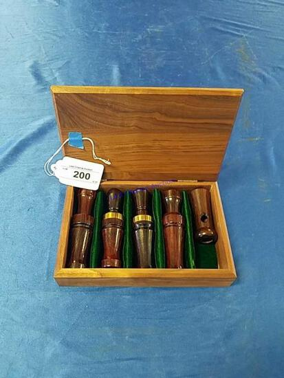 5 Duck Calls DU 1992 Collectors Box