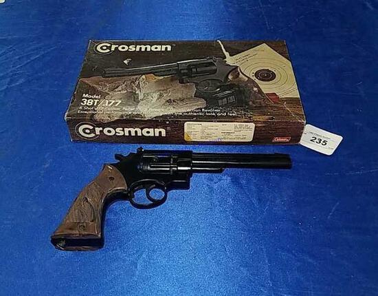 Crosman 38T .177cal Pellet Revolver