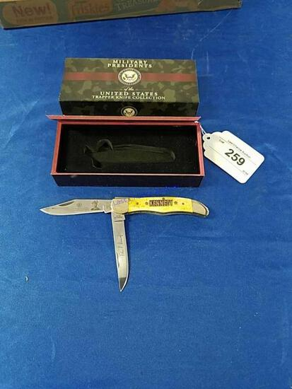 Military Presidents John F Kennedy Knife