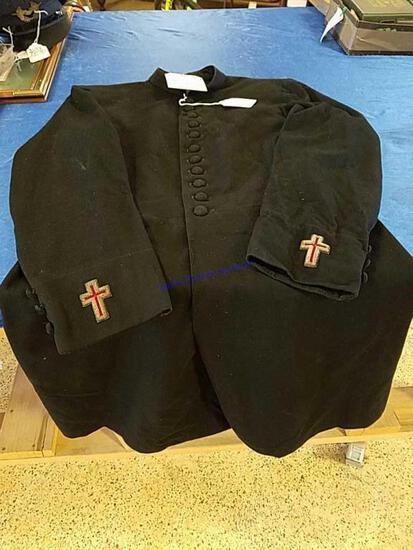 Military Chaplin's Coat