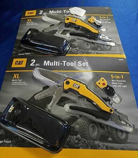2-CAT 2 Piece Multi Tool Sets