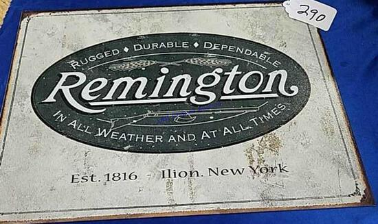 Remington Logo Sign