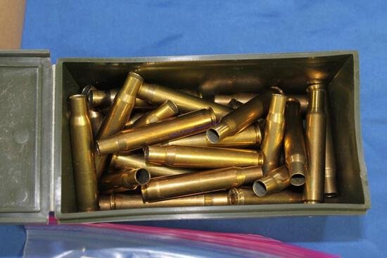 Small Box of Primed Brass, See Desc.