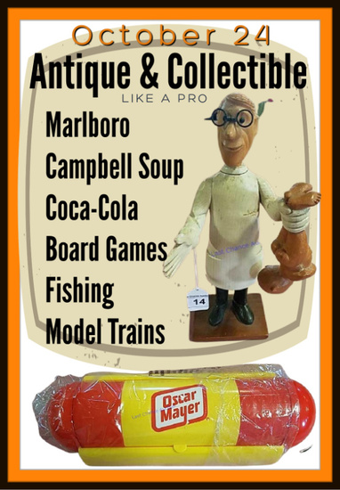 Antique and Collectible Auction Online Only