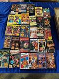 29 Professional Wrestling VHS Tapes