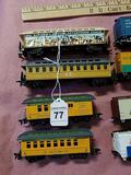 4 Model Train Passenger Cars