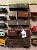 5-Model Train Cattle and Box Cars
