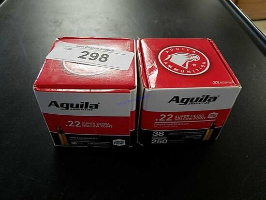 2X-250ct Aguila .22lr HP