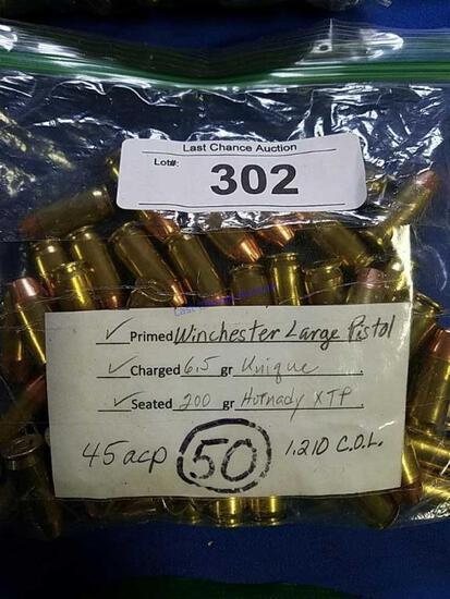 50ct Professional Reloads .45 ACP
