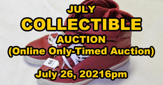 July Collectible Auction