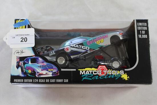 1:24 Scale Matco 1999 Dean Skuza Funny Car