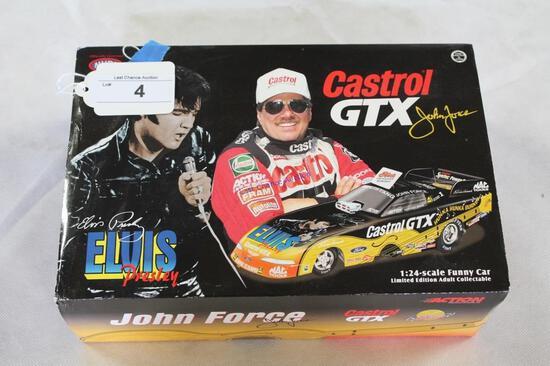 1:24 Scale John Force Elvis Presley Car