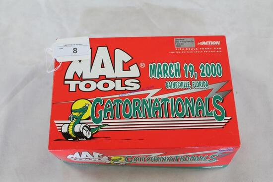 1:24 Scale Gatornationals 2000 Mustang Car