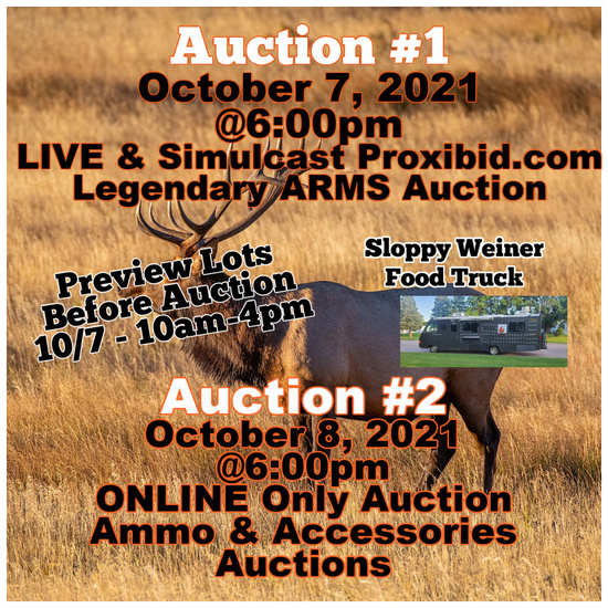 Legendary ARMs Auction - October 7