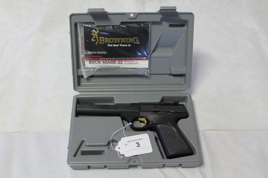 Browning Buckmark .22lr Pistol Used/LNIB