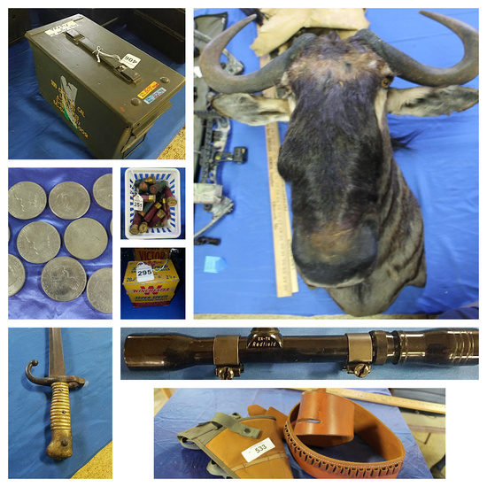 Legendary Ammo/Accessories/WWII Auction