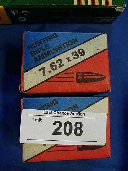2X-20ct JSC Barnaul 7.62x39 Rifle Russian