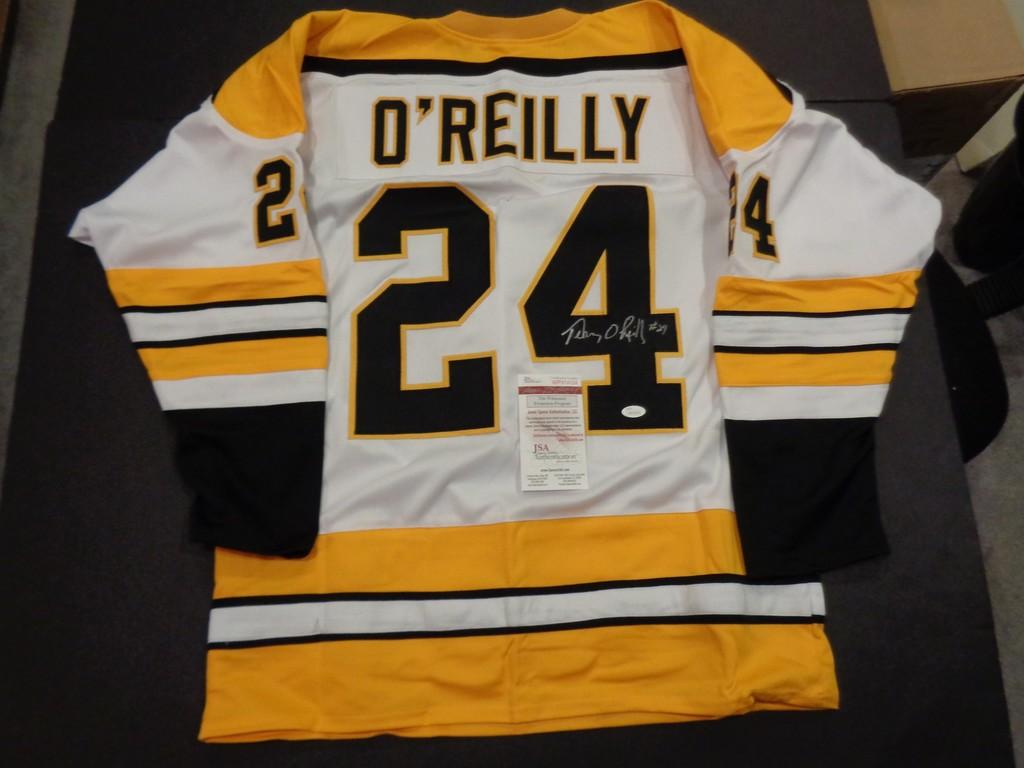 the latest 8a4d8 8da2b Lot: Terry O'Reilly Autographed Custom Boston Bruins Style ...