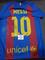 Lionel Messi Barcelona Autographed Custom 2016-17 Home Style Jersey w/GA coa