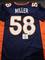 Von Miller Denver Broncos Autographed Custom Home Blue Style Jersey w/GA coa