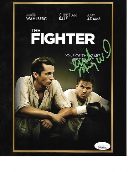Irish Micky Ward Autographed 8x10 The Fighter DVD Cover Photo w/JSA W coa