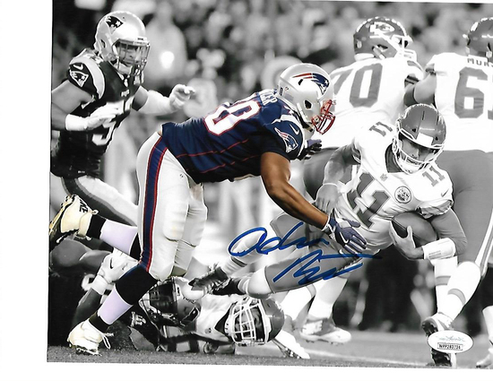 Adam Butler New England Patriots Autographed 8x10 Spotlite Photo w/JSA Witnessed coa