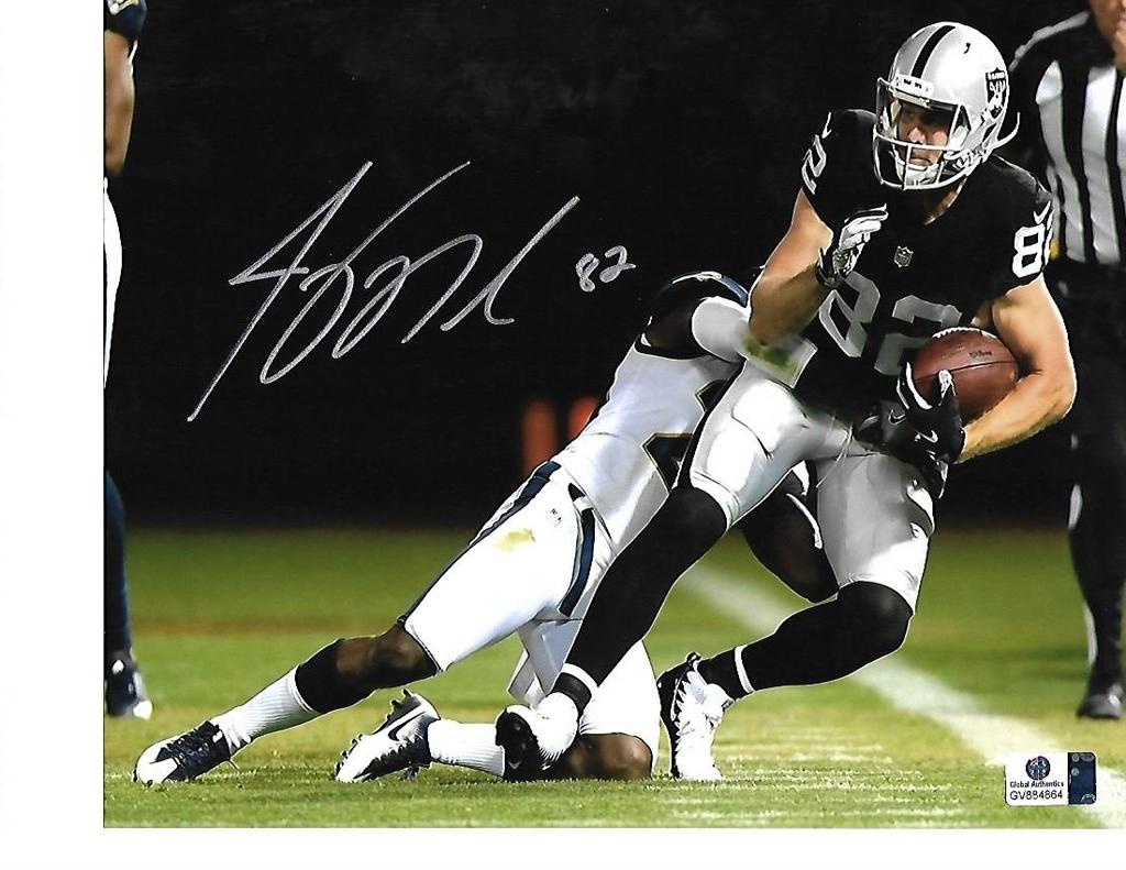 Jordy Nelson Green Bay Packers Autographed 8x10 Photo w/GA coa