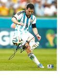 Lionel Messi Argentina Autographed 8x10 Photo w/GA coa  rw