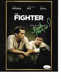 Irish Micky Ward Autographed 8x10 The Fighter DVD Cover Photo w/JSA W coa
