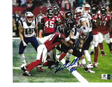Danny Amendola New England Patriots Autographed 8x10 SB LI 4th Q TD Photo w/GA coa