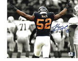 Khalil Mack Chicago Bears Autographed 8x10 Spotlite Photo w/GA coa