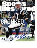 Rob Gronkowski New England Patriots Autographed 8x10 SI Photo w/GA coa