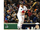 Christian Vazquez Boston Red Sox Autographed 8x10 Damage Done Photo w/ JSA W coa