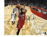 Anthony Davis New Orleans Pelicans Autographed 8x10 Photo w/GA coa