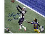 Stephon Gilmore New England Patriots Autographed 8x10  SB LIII Photo Insc.