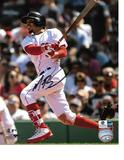 Mookie Betts Boston Red Sox Autographed 8x10  Photo w/GA coa