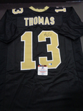 Michael Thomas New Orleans Saints Autographed Custom Home Black Style Jersey w/GA coa