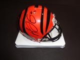 A.J. Green Cincinnatti Bengals Autographed Riddell Mini Helmet w/GA coa