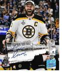 Zdeno Chara Boston Bruins Autographed 8x10 Stanley Cup Photo w/GA coa